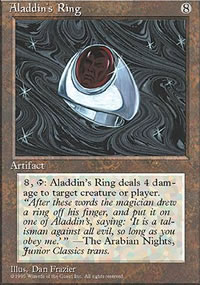 Aladdin's Ring - 4th Edition