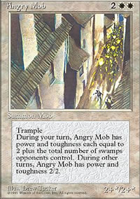 Angry Mob - 4th Edition