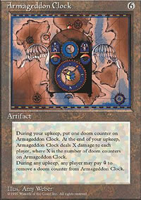 Armageddon Clock - 4th Edition