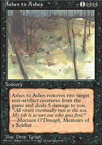 Ashes to Ashes - 4th Edition