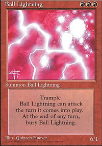 Ball Lightning - 4th Edition