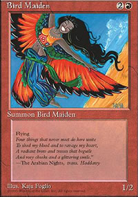 Bird Maiden - 4th Edition