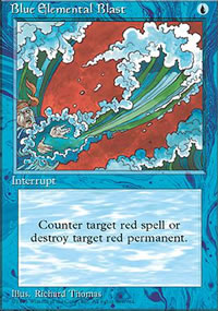 Blue Elemental Blast - 4th Edition