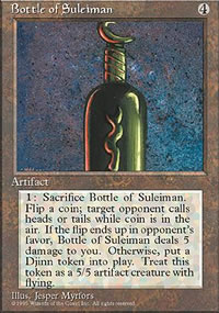 Bottle of Suleiman - 4th Edition