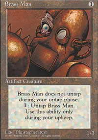 Brass Man - 4th Edition