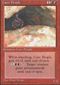 Cave People - 4th Edition