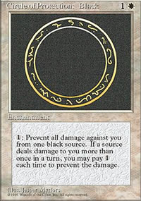 Circle of Protection: Black - 4th Edition