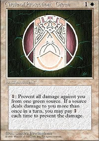 Circle of Protection: Green - 4th Edition