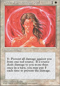 Circle of Protection: Red - 4th Edition