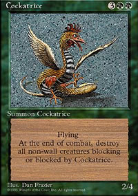 Cockatrice - 4th Edition