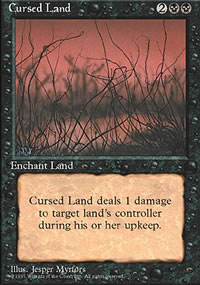 Cursed Land - 4th Edition