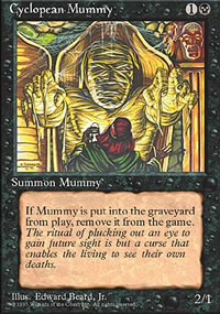 Cyclopean Mummy - 4th Edition