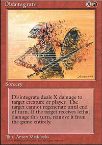 Disintegrate - 4th Edition