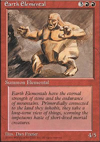 Earth Elemental - 4th Edition