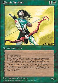 Elvish Archers - 4th Edition
