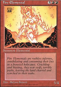 Fire Elemental - 4th Edition