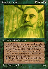 Gaea's Liege - 4th Edition