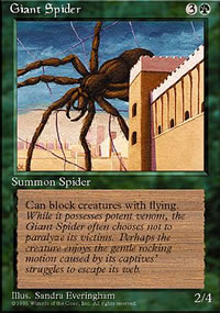 Giant Spider - 4th Edition