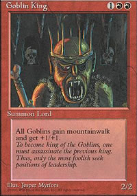 Goblin King - 4th Edition