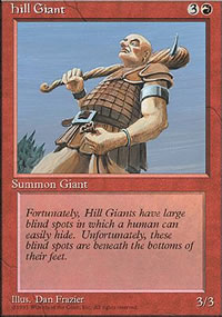 Hill Giant - 4th Edition