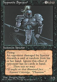 Hypnotic Specter - 4th Edition