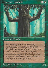 Ironroot Treefolk - 4th Edition