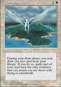 Island Sanctuary - 4th Edition
