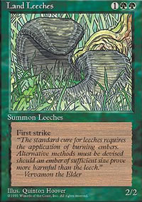 Land Leeches - 4th Edition