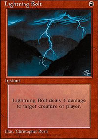 Lightning Bolt - 4th Edition