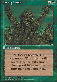 Living Lands - 4th Edition