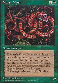 Marsh Viper - 4th Edition