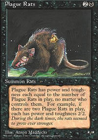 Plague Rats - 4th Edition