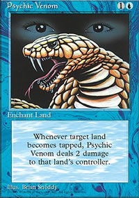 Psychic Venom - 4th Edition