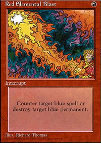 Red Elemental Blast - 4th Edition