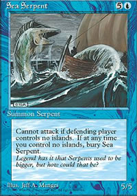 Sea Serpent - 4th Edition