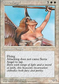Serra Angel - 4th Edition