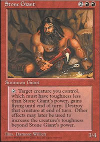 Stone Giant - 4th Edition