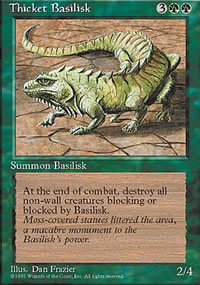 Thicket Basilisk - 4th Edition