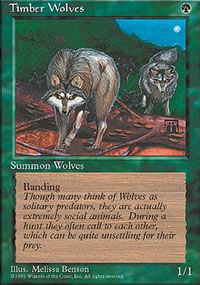 Timber Wolves - 4th Edition