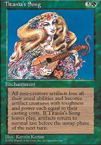 Titania's Song - 4th Edition