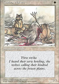 Tundra Wolves - 4th Edition