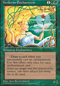 Verduran Enchantress - 4th Edition
