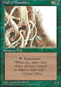 Wall of Brambles - 4th Edition