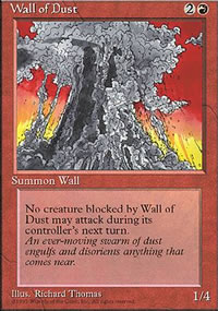 Wall of Dust - 4th Edition
