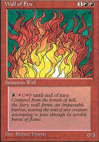 Wall of Fire - 4th Edition