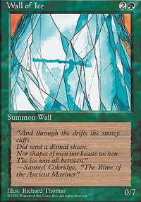 Wall of Ice - 4th Edition