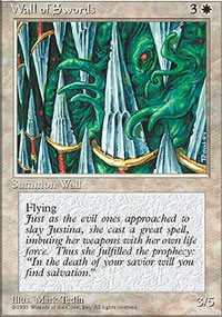 Wall of Swords - 4th Edition