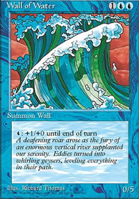 Wall of Water - 4th Edition