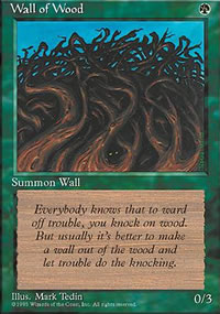 Wall of Wood - 4th Edition