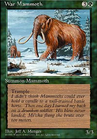 War Mammoth - 4th Edition